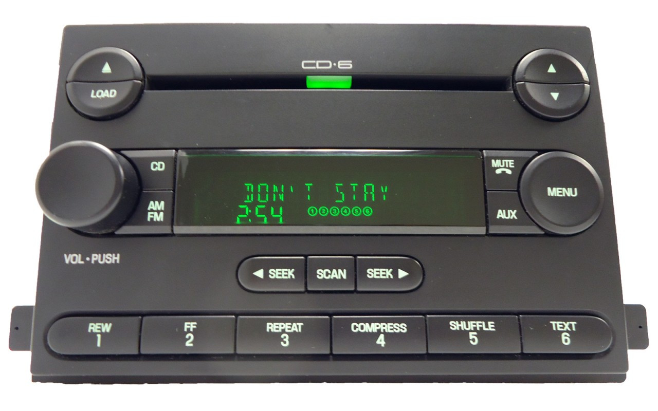 ford focus cd player wiring diagram home generator 2006 freestar radio aux