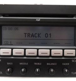 details about vw volkswagen jetta passat rabbit premium 7 radio 6 disc changer mp3 cd player [ 1280 x 782 Pixel ]
