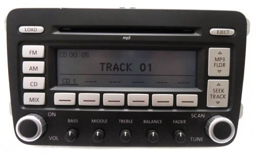 small resolution of details about vw volkswagen jetta passat rabbit premium 7 radio 6 disc changer mp3 cd player