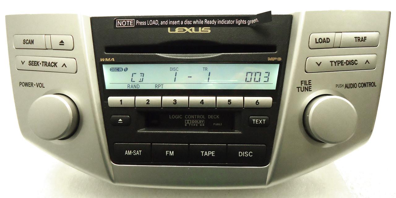 REPAIR 99  09 6 Disc Changer CD Player LEXUS RX300 RX330