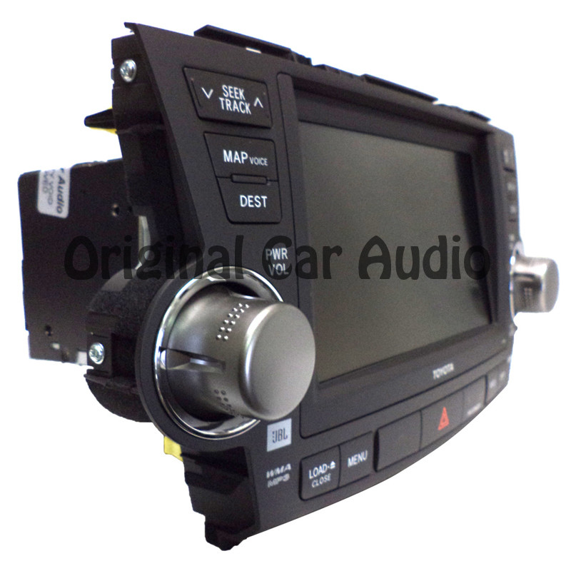 TOYOTA Highlander JBL Navigation GPS Radio LCD Screen MP3