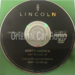 Free Ford Navigation Dvd Update Wiring Diagram Of Single Phase Motor Lincoln System Gps Drive Disc 5w4t 10e989