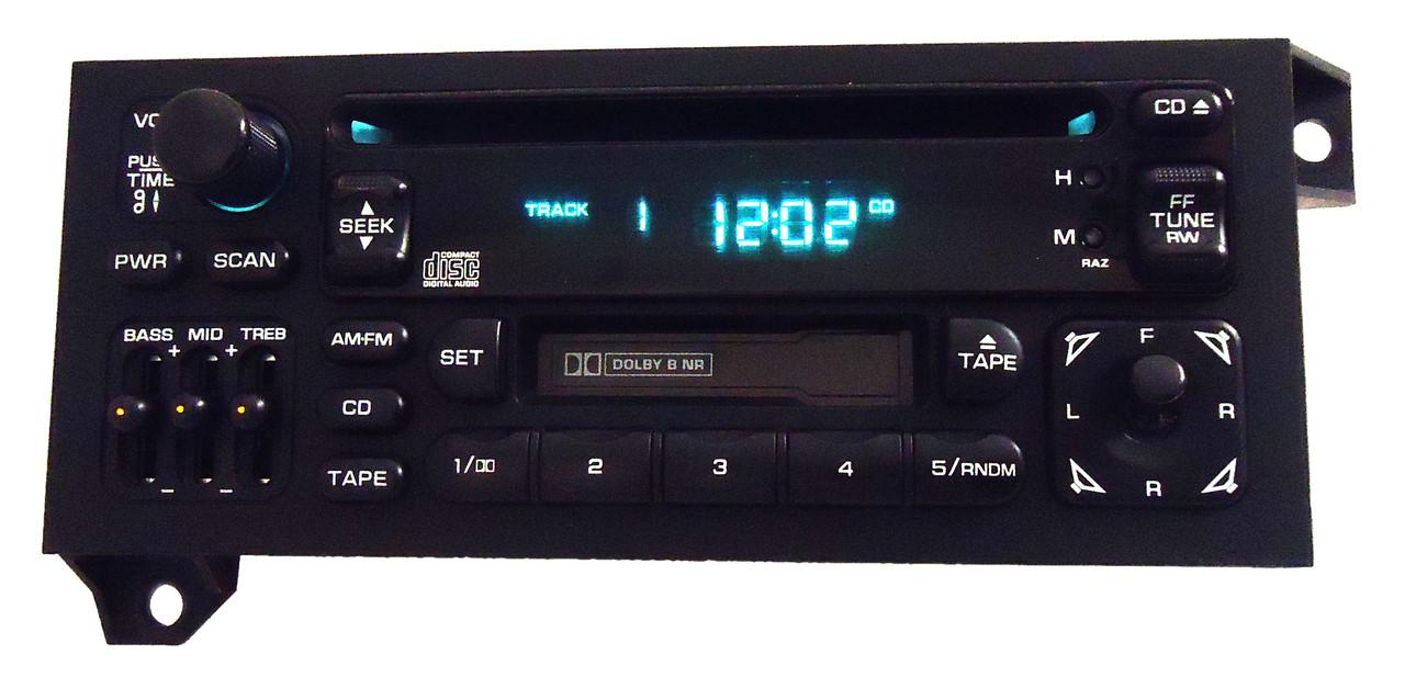 JEEP Grand Cherokee Wrangler DODGE Ram Caravan LHS Radio