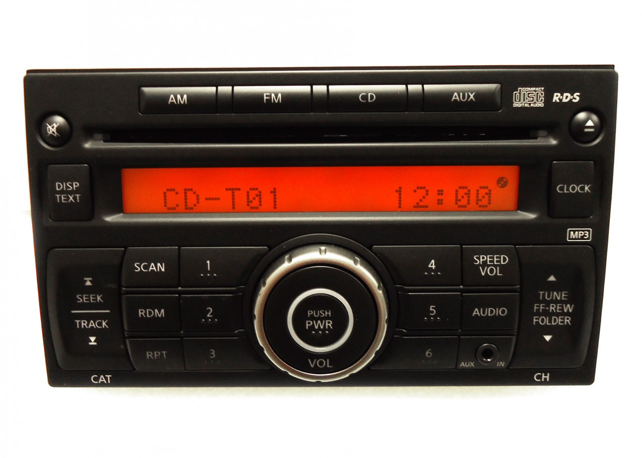 2009 nissan versa radio wiring diagram 6 pin round trailer plug 07 11 rogue stereo mp3 cd player aux ipod
