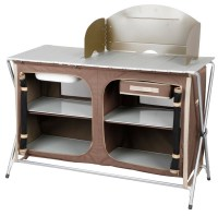 OZtrail Camping Camp Kitchen Deluxe Sink Table available ...