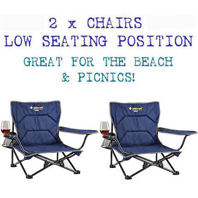 festival folding chair how much does it cost to reupholster a wingback 2 x oztrail camping picnic beach available at with free shipping