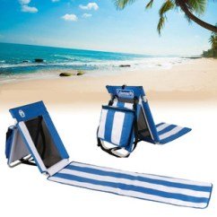 Lightweight Transport Chair Small Outdoor Patio Table And Chairs Coleman Beach Mat Towel Blanket Back Rest Camp Picnic