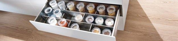 kitchen drawer dividers | blum drawer dividers