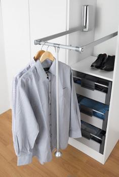 Pull Down Wardrobe Rail Wardrobe Lift