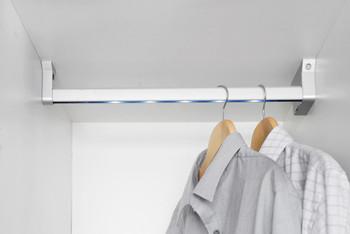 Wardrobe Lighting  Illuminated Hanging Rail  LED