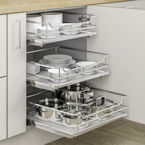 shelves for kitchen cabinets electrolux appliances cabinet organizers pull out baskets soft close