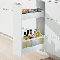 blum kitchen bins cabinet drawer hardware supplier of components antaro 200mm base pull out