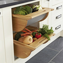 pull out kitchen cabinet cabinets las vegas organizers baskets basket with stainless steel base