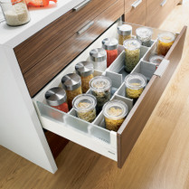 kitchen drawer zephyr hurricane ak2500 hood dividers blum use only with intivo systems