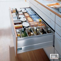 Kitchen Drawer Dividers - Store bottles and provisions ...