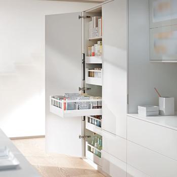 Blum Larder Drawers Antaro  Clutterfree kitchens