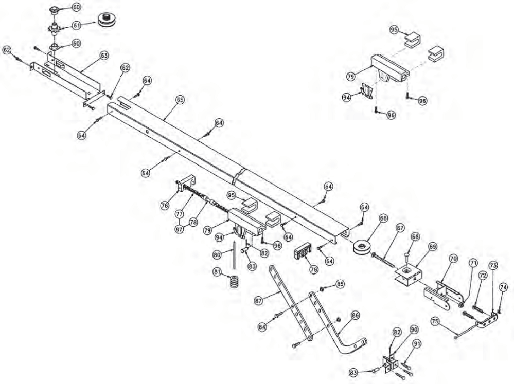 medium resolution of search parts for belt chain channel