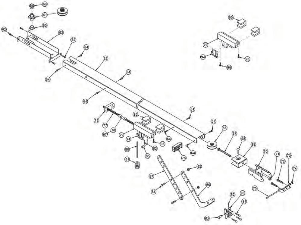 medium resolution of overhead door legacy 696cd b replacement parts overhead door schematic rda 50 overhead door schematic