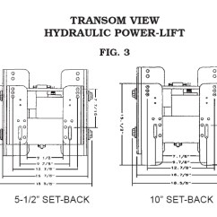 Cmc Jack Plate Wiring Diagram Ford 8n Tractor Pl-65 Ss Hydraulic Racing 65201-proboatparts.com