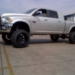 2009 2012 Dodge Ram 2500 4wd Diesel Motor Lift Kit 8 W Shocks Mcgaughys 54950 Accessory Partners
