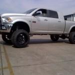 2 5 Fabricated Steel Rear Lift Blocks 1500 Mega Cab 03 08 Dodge Ram 2500 3500