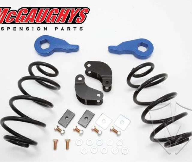 2001 2006 Chevrolet Tahoe W Auto Ride 2 3 Economy Drop Kit Mcgaughys 33048 Accessory Partners