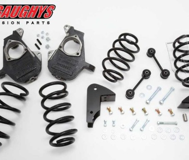 2007 2014 Chevrolet Tahoe W O Auto Ride 3 5 Deluxe Drop Kit Mcgaughys 30012