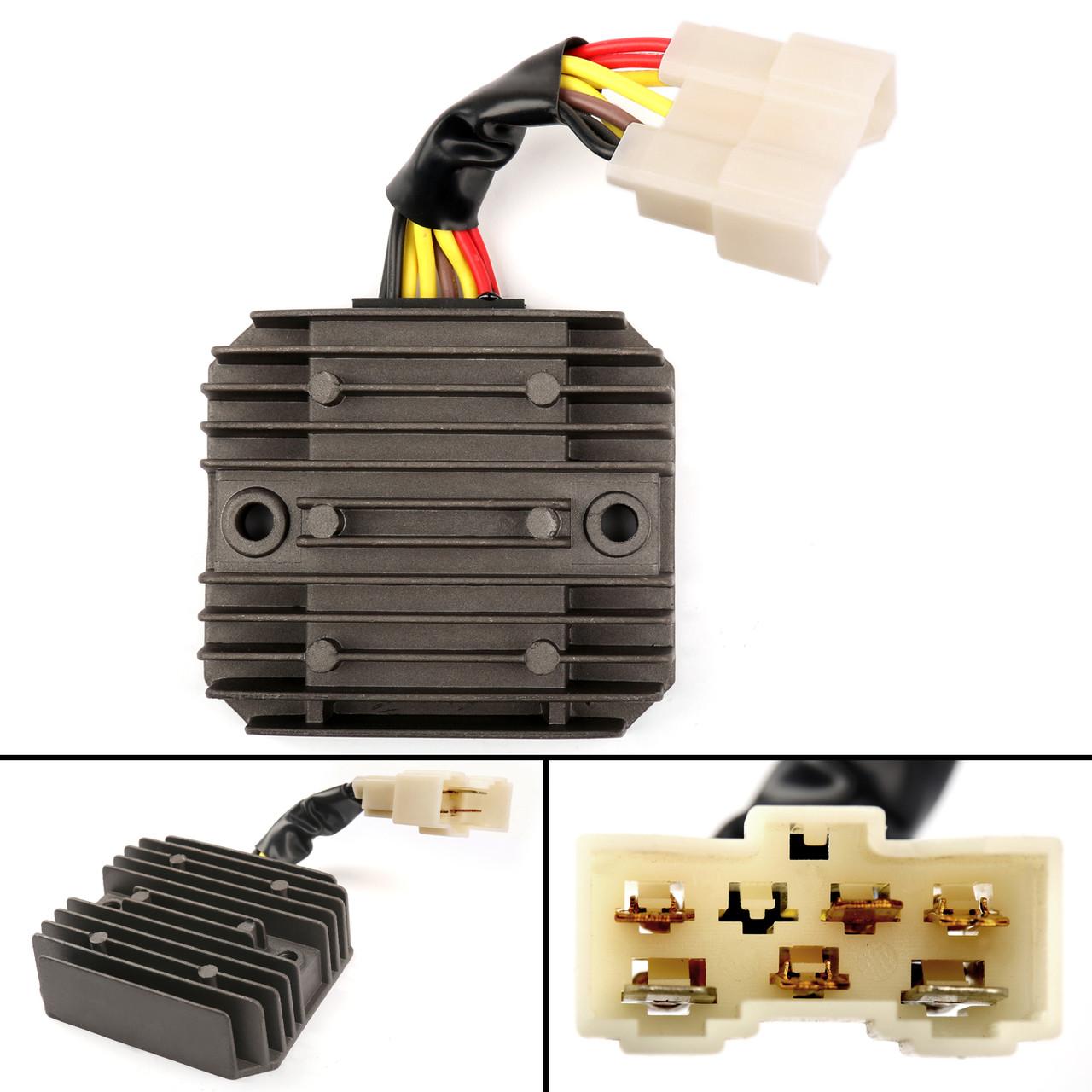 small resolution of  wiring diagram on voltage regulator rectifier for kawasaki kvf400 prairie 400 1998 4x4 on