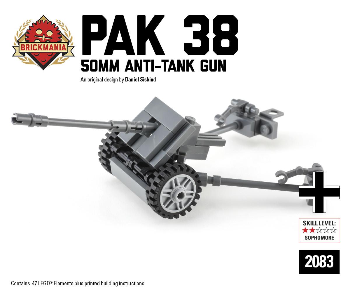Pak 38 5cm Anti-Tank Gun