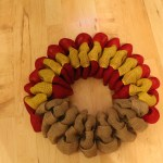 Diy Burlap Turkey Thanksgiving Wreath The Wreath Depot