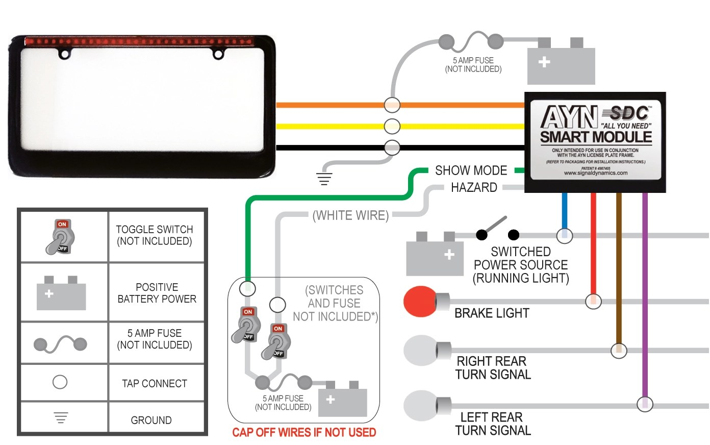 Stat Turn Signal Flasher Wiring Diagram Diagrams Universal 640 Grote Mustang Chevrolet
