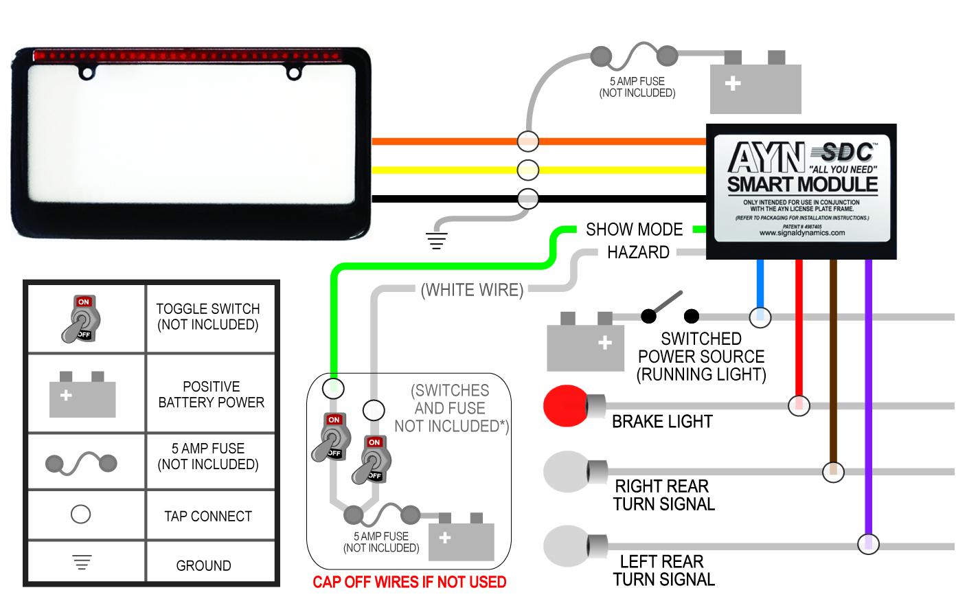wiring diagram for motorcycle hazard lights 110 volt light free engine image
