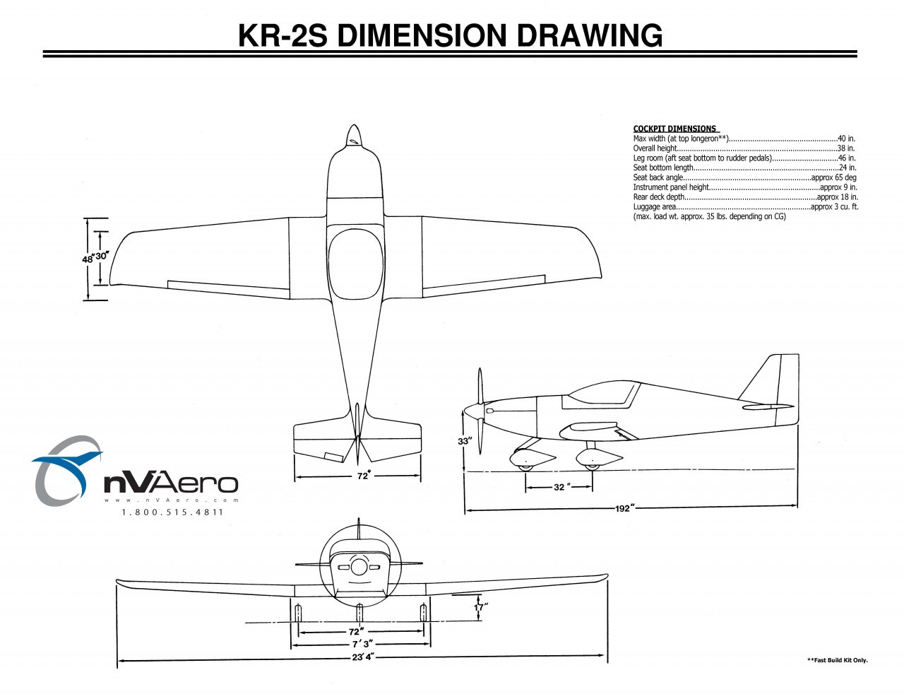 small resolution of three view drawing of kr 2s and dimensions