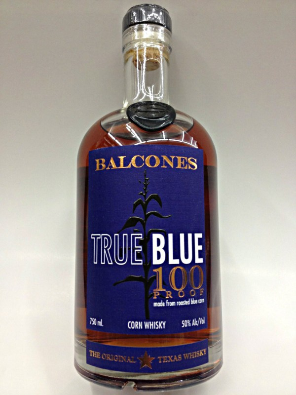 100 True Blue Balcones Whiskey