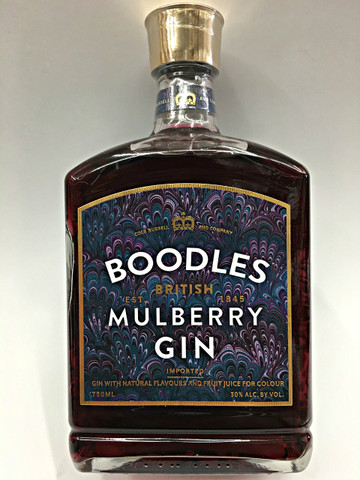Boodles British Mulberry Gin  Quality Liquor Store