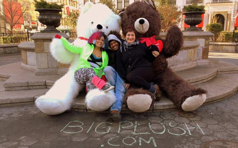 Animals 96 Plush Bears Made In The USA Big Plush