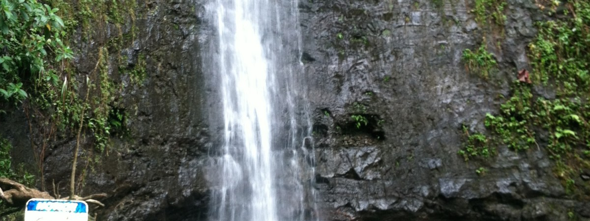 Manoa Falls, Honolulu, Oahu, Hawaii