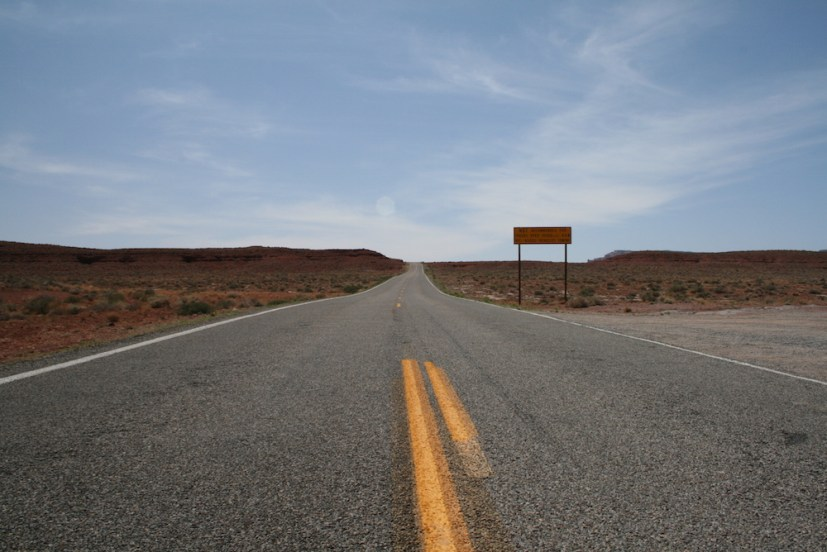 Hwy 261, leading to the bottom of the Moki Dugway
