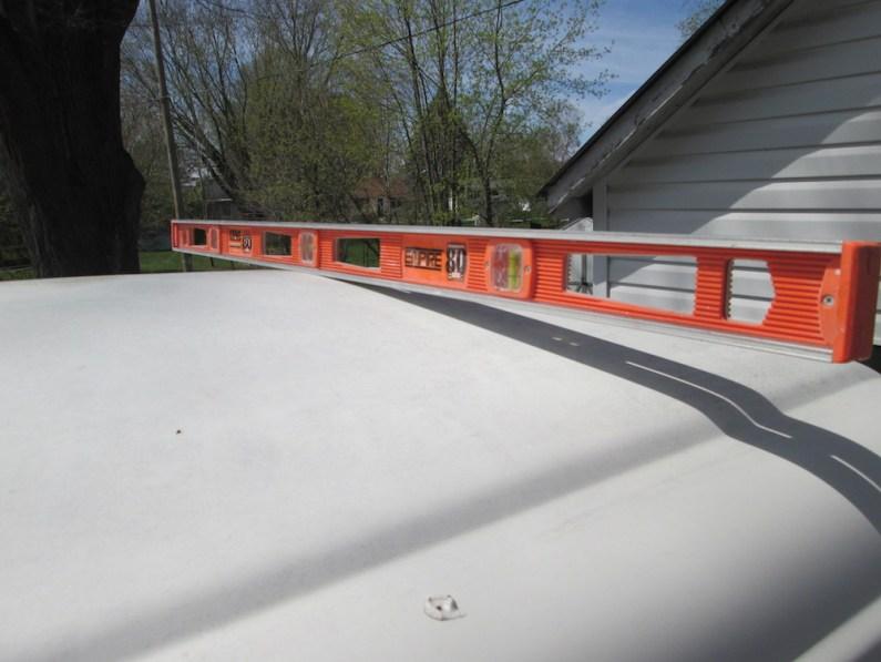 Roof rear