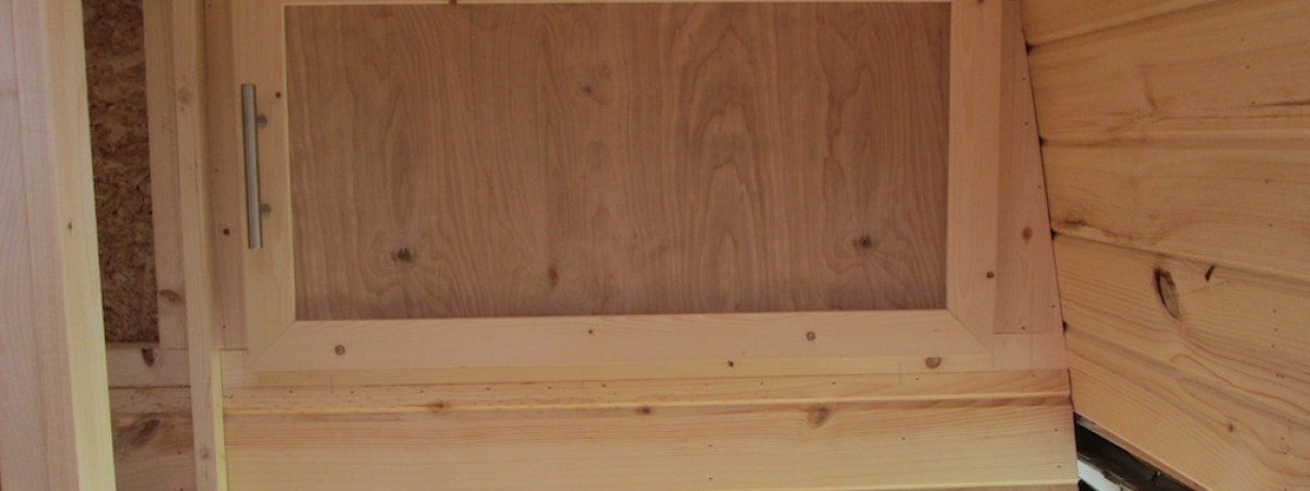 Building the Ceiling Cabinets (Part 3)