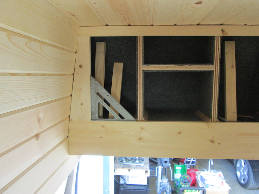 Building the Ceiling Cabinets (Part 1)