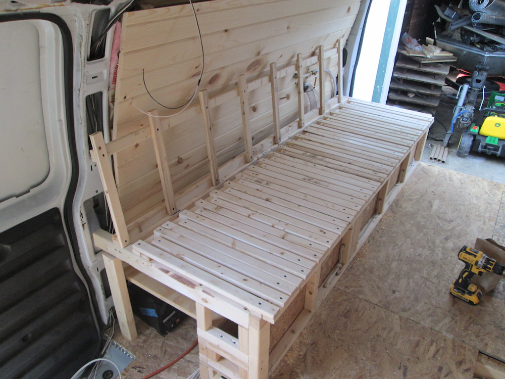 Building the Bed Frame (Part 3)