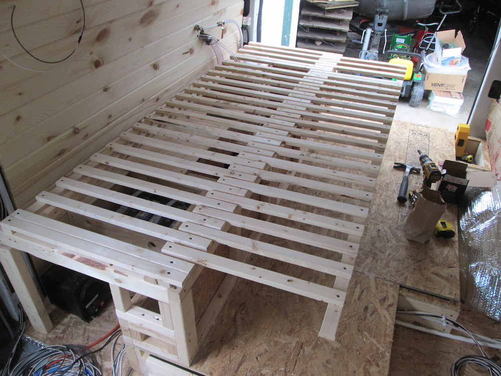 Building the Bed Frame (Part 2)
