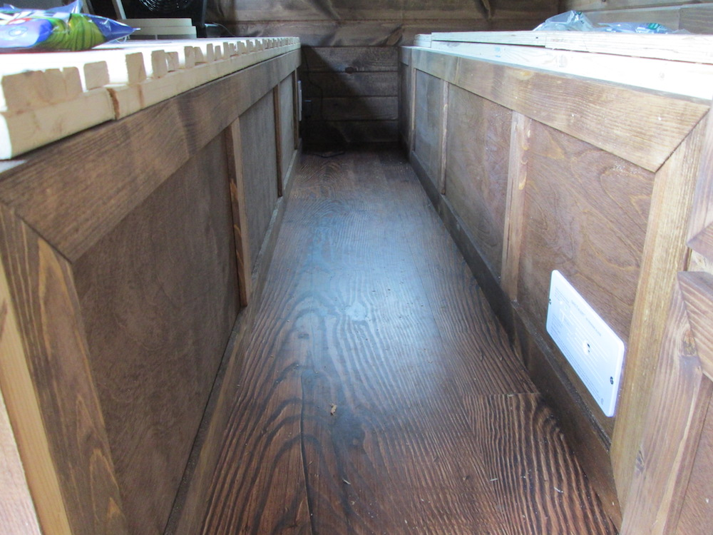 Paneling the Beds