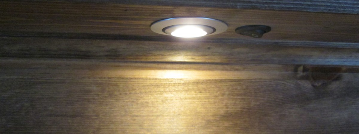 Recessed Lights / Battery Cable