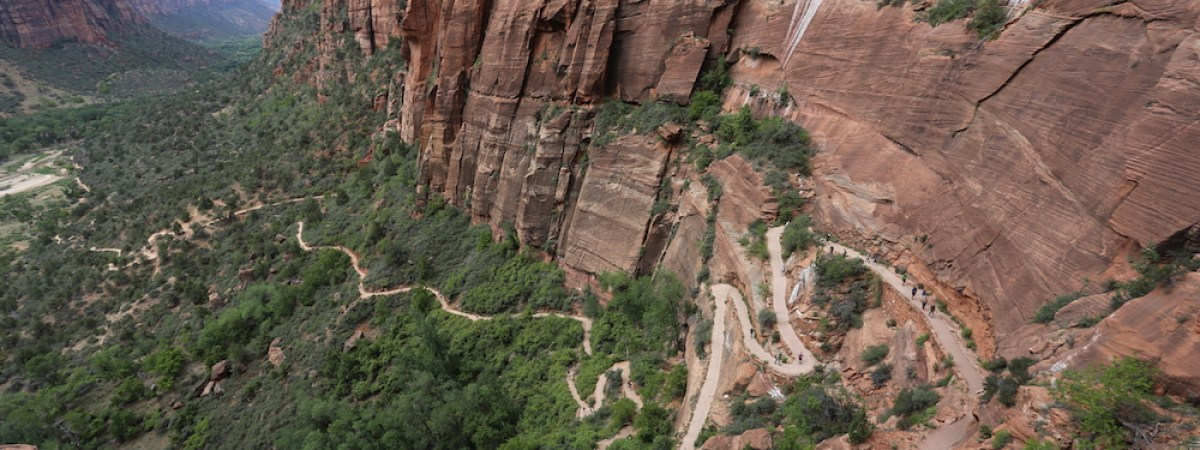 Angels Landing, Zion National Park, Utah