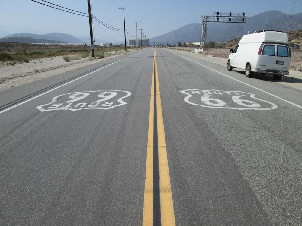 Route 66: Santa Monica, CA to Barstow, CA