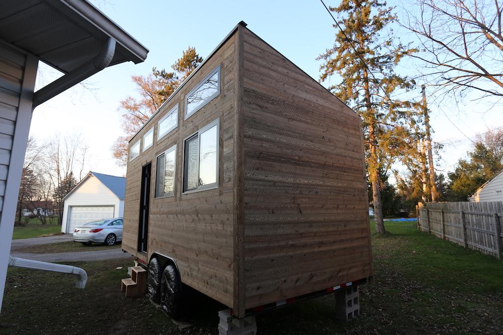 Tiny House: Siding