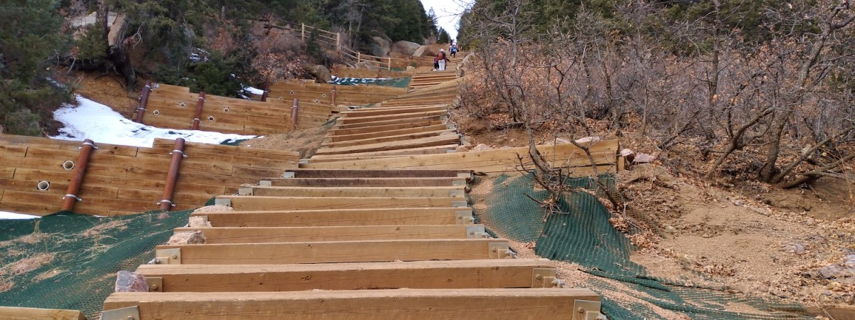 The Manitou Incline, Colorado
