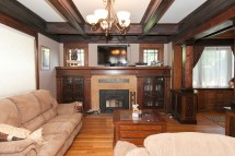 Craftsman Style Home Interiors Fireplace